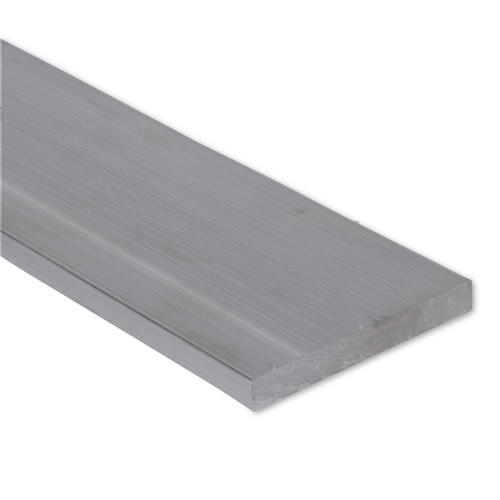"""1.0/"""" Mill Stock 1/"""" x 2/"""" Stainless Steel Flat Bar 10/"""" Length 304 Plate"""