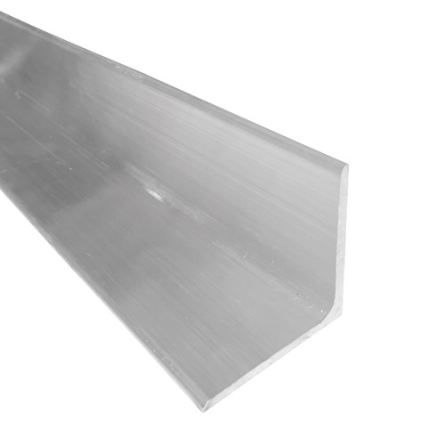 """Aluminum Angle, 2"""" x 2"""" x 1/8"""" Thick, 6061 General Purpose, T6511 Mill Stock, 10 Lengths Available"""