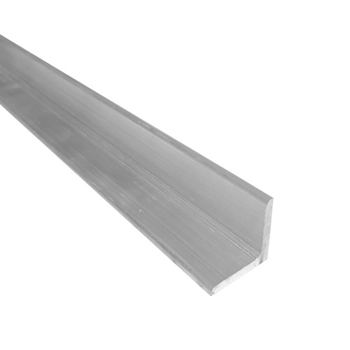 """Aluminum Angle, 1"""" x 1"""" x 1/4"""" Thick, 6061 General Purpose, T6511 Mill Stock, 10 Lengths Available"""