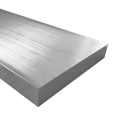 """Aluminum Flat Bar, 3/4"""" x 6"""", 6061 General-Purpose Plate, T6511 Mill Stock, 10 Lengths Available"""