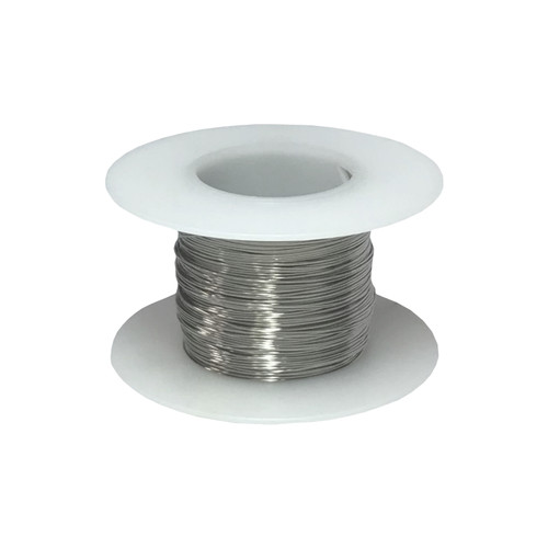 Stainless Steel 316L Wire, 30 AWG - 7 Spool Sizes