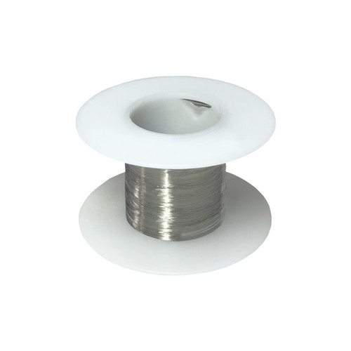 Stainless Steel 316L Wire, 34 AWG - 7 Spool Sizes