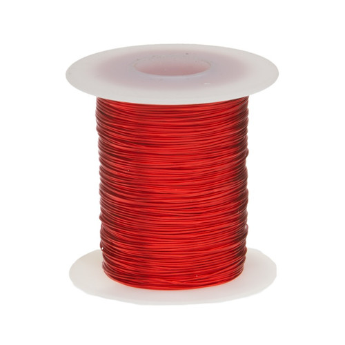 Magnet Wire, 23 AWG, Heavy Build, Enameled Copper - 6 Spool Sizes