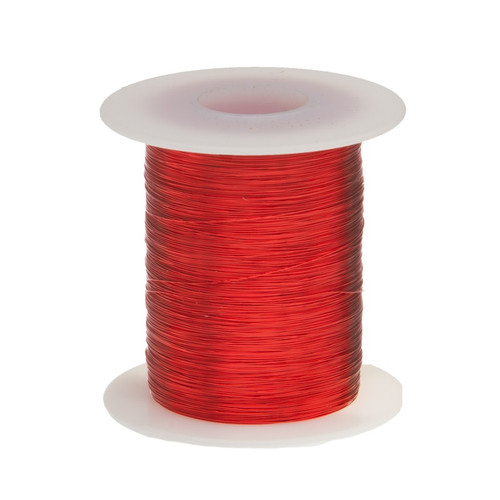 Magnet Wire, 27 AWG, Heavy Build, Enameled Copper - 6 Spool Sizes