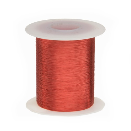 Magnet Wire, 36 AWG, Heavy Build, Enameled Copper - 6 Spool Sizes