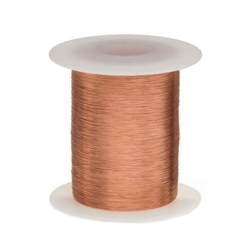 Magnet Wire, 38 AWG, Heavy Build, Enameled Copper - 6 Spool Sizes