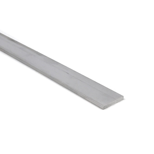 """Aluminum Flat Bar, 1/8"""" x 1"""", 6061 General-Purpose Plate, 10 Lengths Available, T6511 Mill Stock, Extruded, 0.125"""" Thick"""