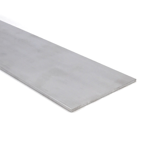 """Aluminum Flat Bar, 1/8"""" x 4"""", 6061 General-Purpose Plate, 10 Lengths Available, T6511 Mill Stock, Extruded, 0.125"""" Thick"""