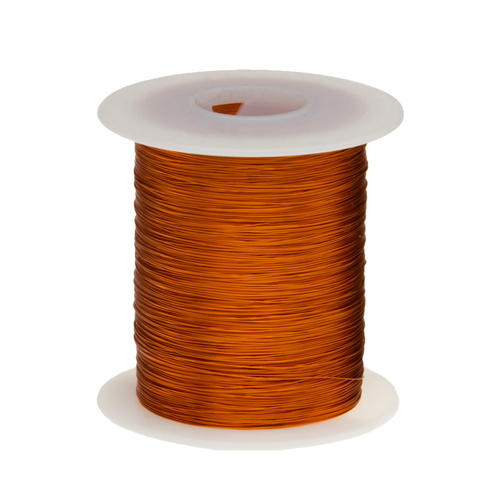 Magnet Wire, 240°C, 32 AWG Polyimide - 6 Spool Sizes Available