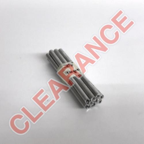 "Aluminum Round Rod, 1/4"" Diameter, 6061 General-Purpose, T6511 Mill Stock, 4"" Length, x10 Piece Lot"