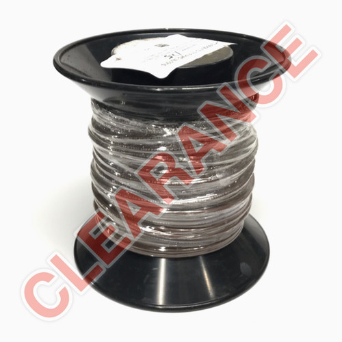 12 AWG Stranded Hook-Up Wire, UL1015, Brown PVC Insulation, 600V, 125 ft Spool