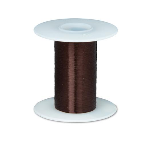 "Magnet Wire, Plain Enamel Copper Wire, 43 AWG, 0.0024"" Diameter, Brown, 43PE"