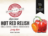 Hot Red Relish