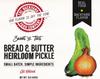 Bread & Butter Pickle