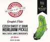 Czech Sweet & Sour Pickle