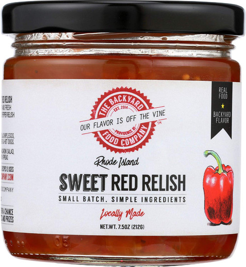Sweet Red Relish