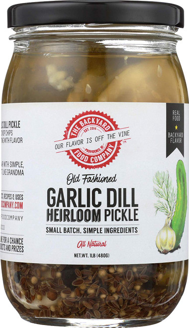 Garlic Dill Pickle Chips
