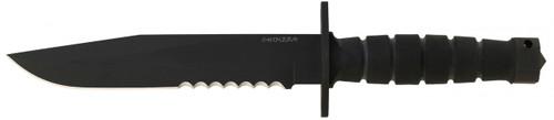 Ontario OKC Chimera Knife, Partially Serrated, 6515