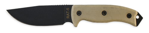 Ontario RAT 5 Fixed Blade Knife, 8667