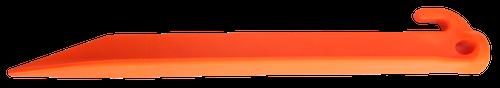 "Ontario Jericho Vampyr 9"" Tent Stakes, Orange - Pack of 4 , 0414OR"