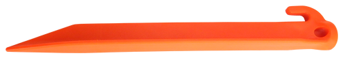 "Ontario Jericho Vampyr 9"" Tent Stakes, Orange - Pack of 4 , 0414OR"