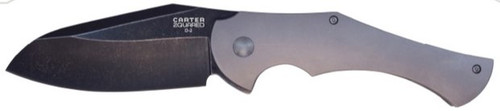 Ontario Robert Carter 2quared Folding Knife | OKC 8876 | D2 Blade | Titanium Handle
