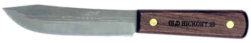 Ontario Old Hickory Hunting Knife | Leather Sheath | 7026