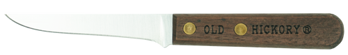 Ontario Old Hickory Mini Filet Knife   Leather Sheath   7028