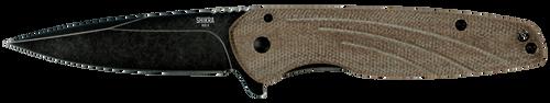 Ontario OKC Shikra Folding Knife | Micarta and Titanium Handle | 8599