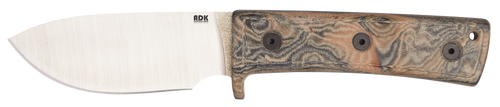 Ontario Adirondack ADK Keene Valley Hunter Knife | Leather Sheath | 8188