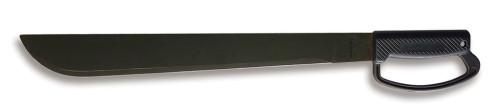 "Ontario 18"" Black D-Handle Field Machete | 8514"