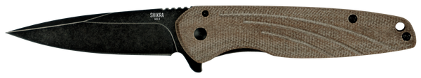 Ontario OKC Shikra Folding Knife | Micarta and Titanium Handle | 8599