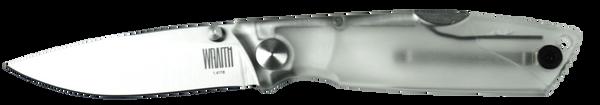 Ontario OKC Wraith Ice Series Folding Knife | Clear Handle | OKC 8798CL