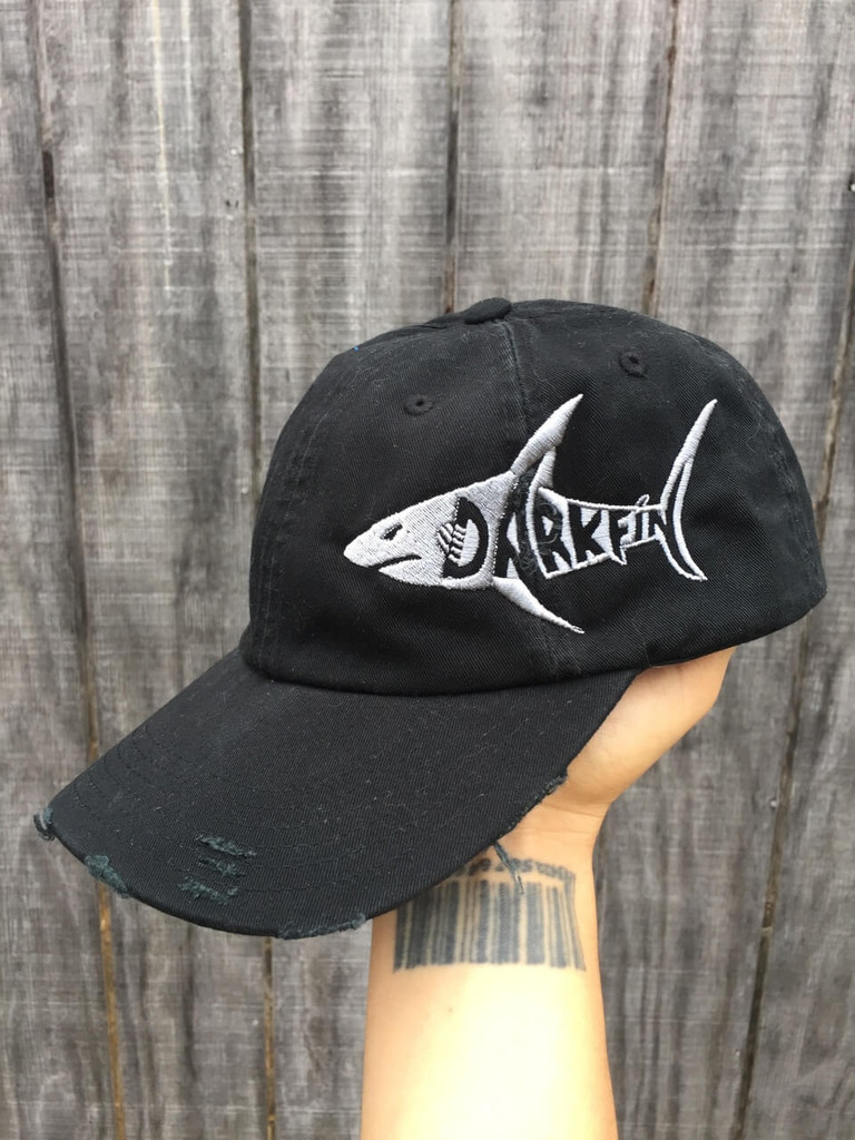 Darkfin Distressed Cap