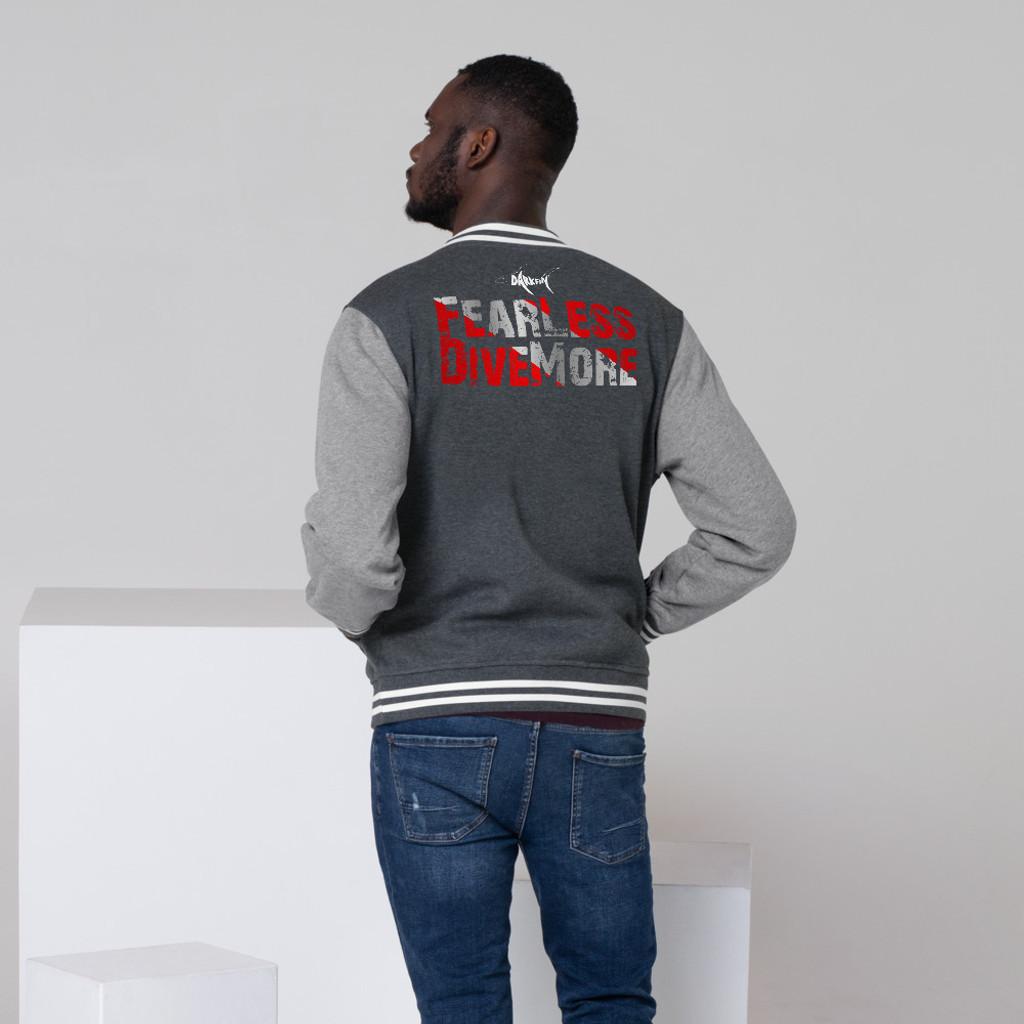 DARKFIN Men's Letterman Jacket