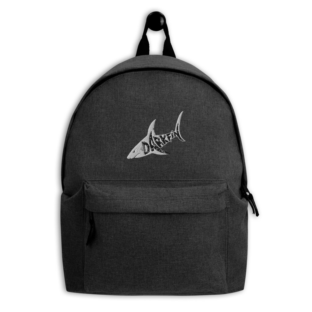 DARKFIN Embroidered Backpack
