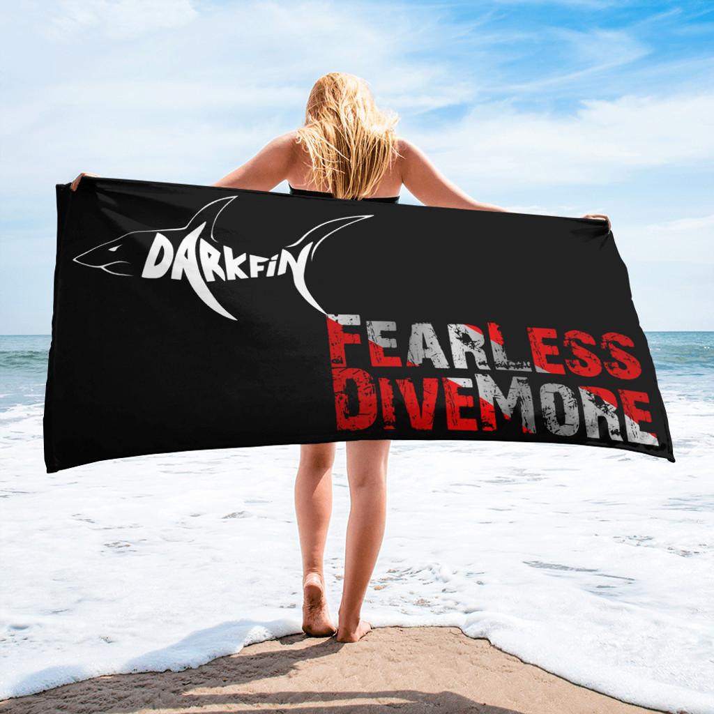 DARKFIN Beach Towel
