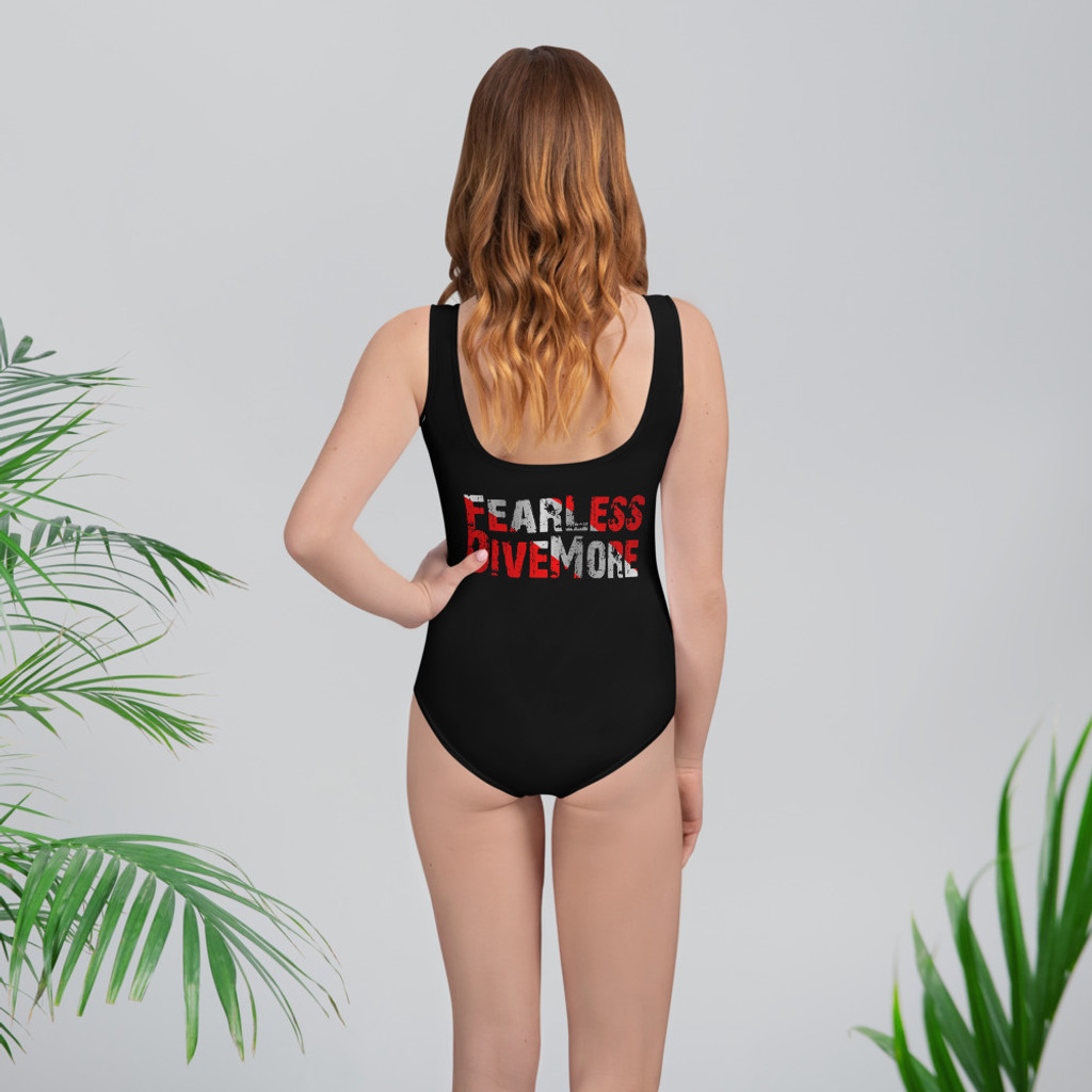 Darkfin Classic Youth Swimsuit