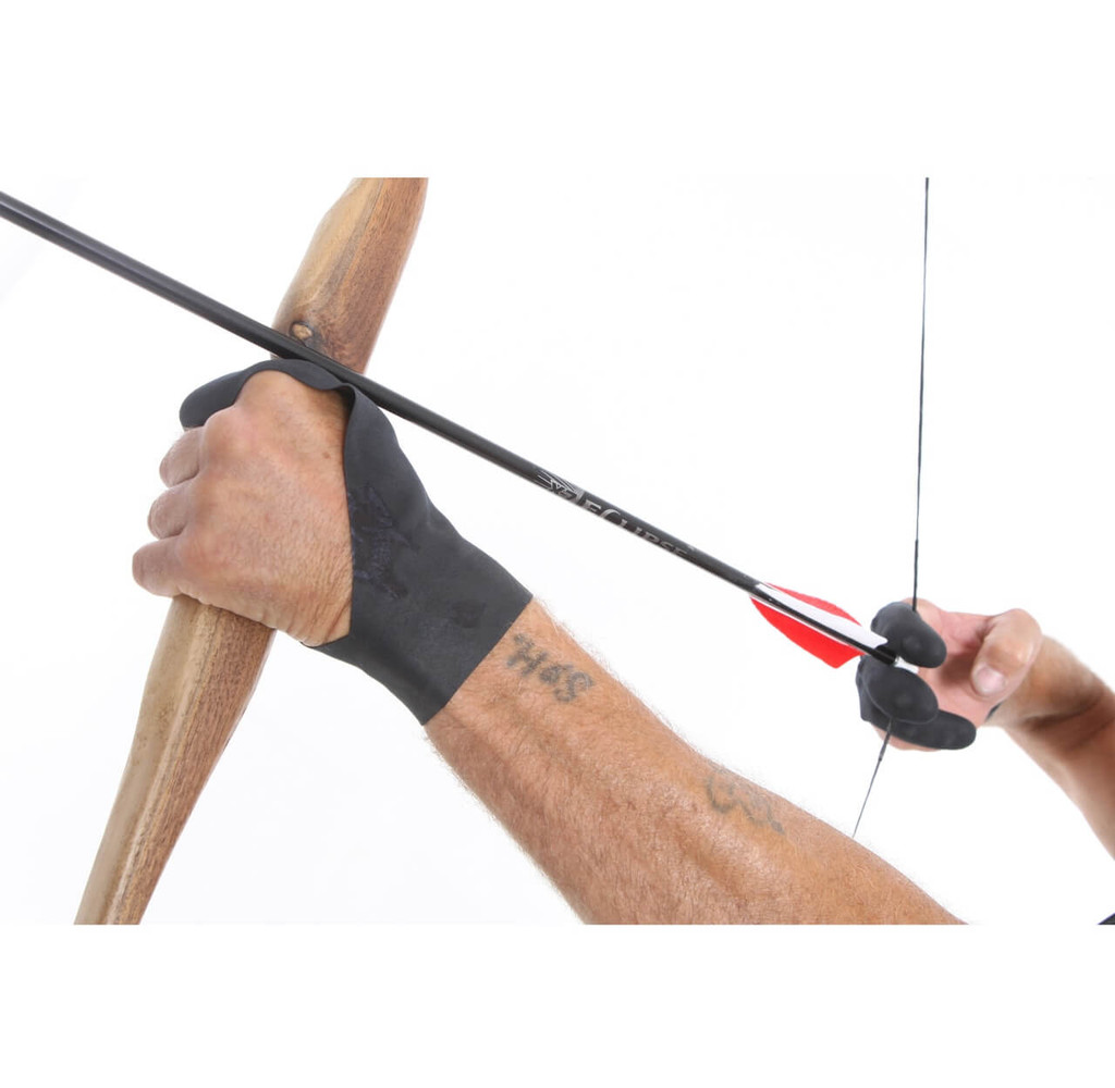 Dark Archer Tactical Archery Longbow Glove