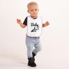 DARKFIN Embroidered Baby SHARK Bib