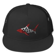 Darkfin Dive Flag Trucker Cap