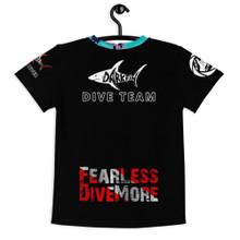 Darkfin Kid's Crew Neck T-shirt