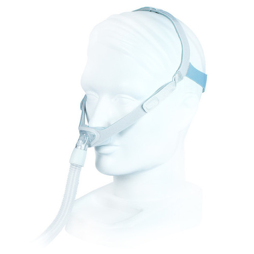 Philips Respironics Nuance Nasal Pillows Mask with Fabric Frame