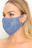 Women's Embroidered Floral Face Mask - Made in the USA