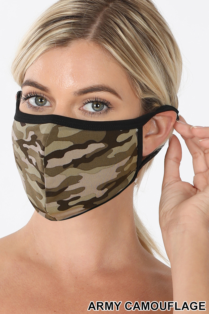 Camouflage Face Mask - Imported