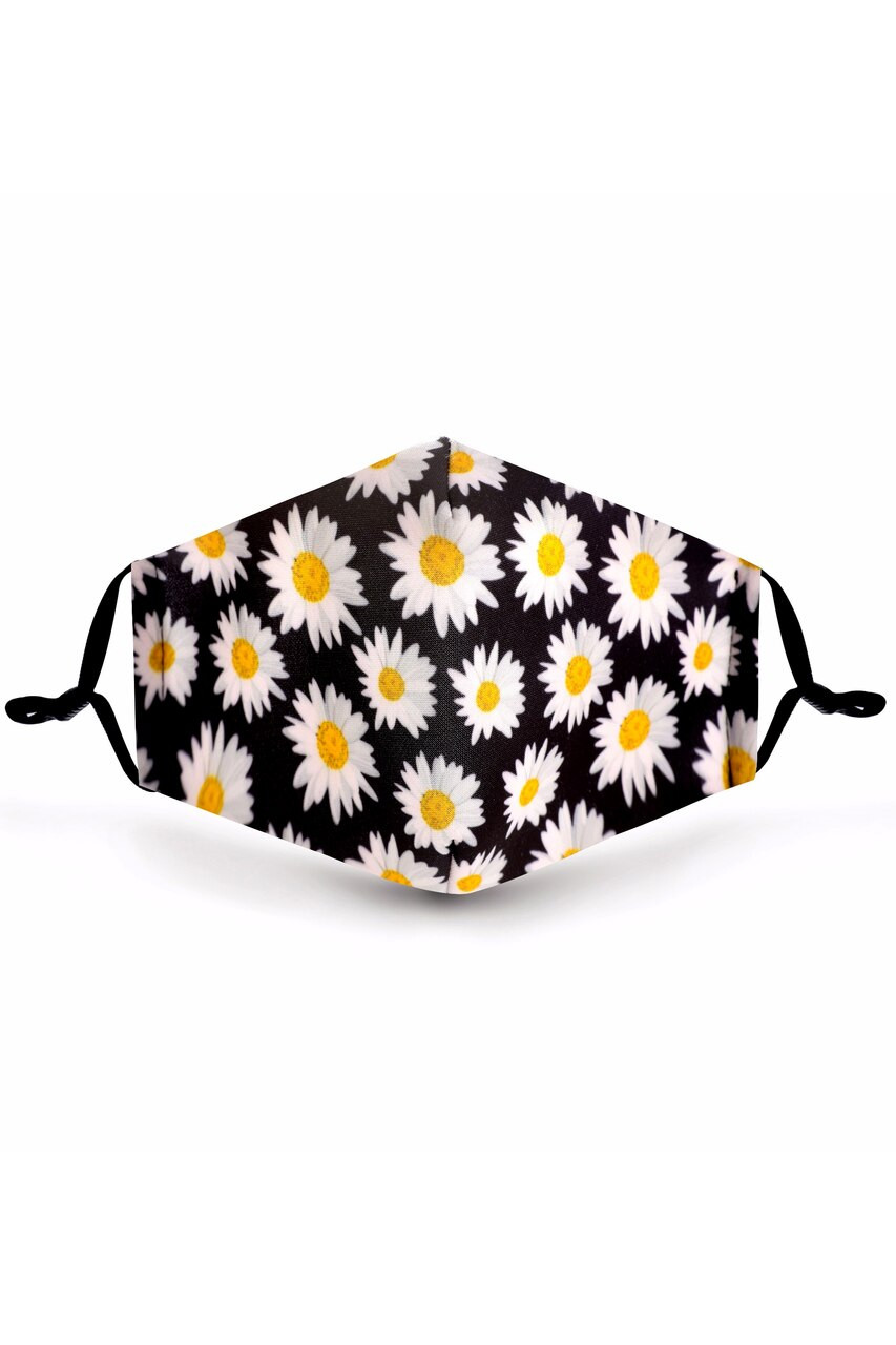 Forever Daisy Graphic Print Face Mask