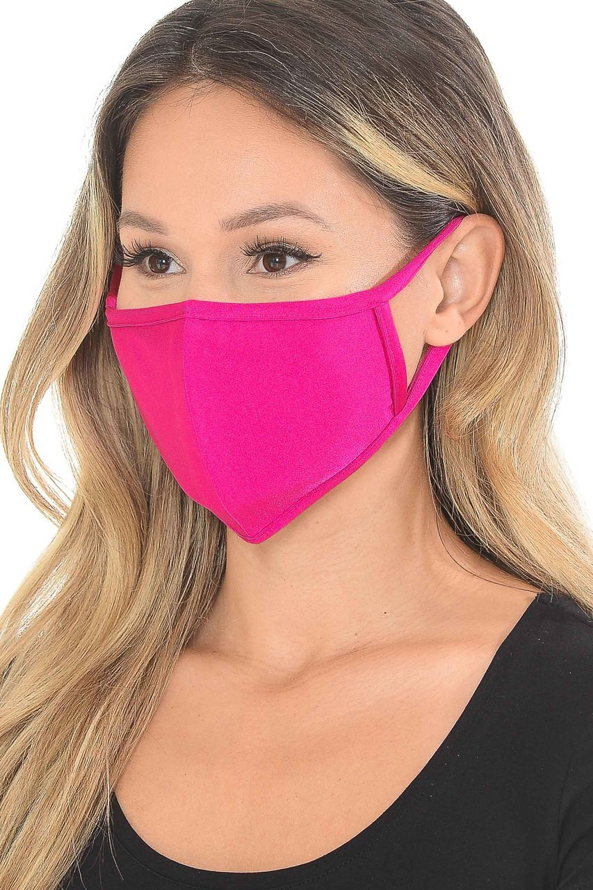 Premium Scuba Face Mask with Rear PM2.5 Pocket - Made in the USA