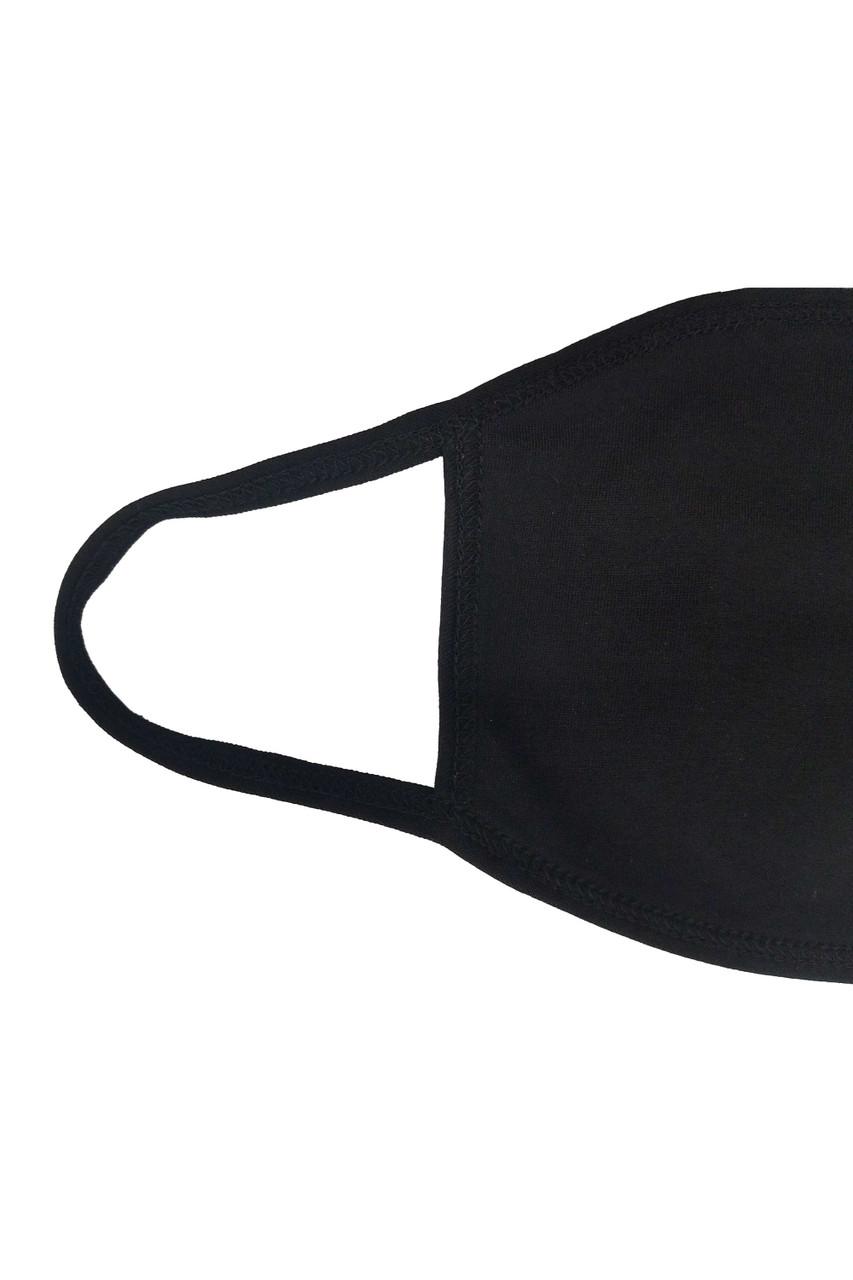 Seamless Cotton Face Mask - No Rear Pocket - Made in USA