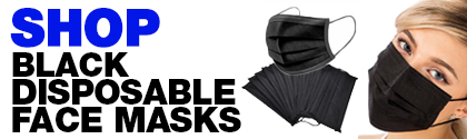 Shop Black  Surgical Masks