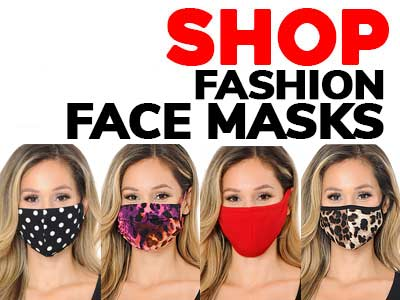 Shop Fashion Face Masks